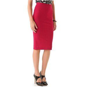 DVF Samara Jersey Pencil Skirt